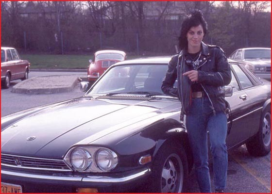 Born To Run Photos Of Rock Stars With Their Cars Flavorwire