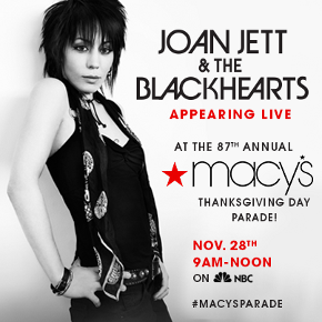 Joan Jett moves to a different Macy's float amid controversy