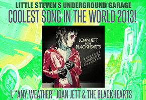 The Blackhearts won Coolest Song In The World 2013