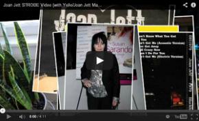 Joan Jett STROBE Video (Yelle/JJMashup)