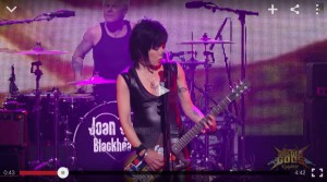 Joan Jett Golden Gods screencap