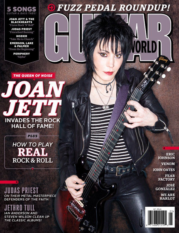 May 2015 issue of Guitar World. Buy now!